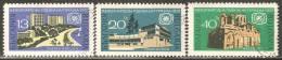 Bulgaria 1967 Mi# 1712-1714 Used - International Tourist Year - Usados