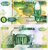 ZAMBIA 20 Kwacha 1992 P-36 **UNC** - Zambie