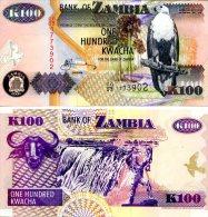 ZAMBIA 100 Kwacha 2006 P-38f **UNC** - Zambia