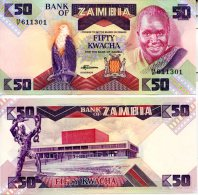 ZAMBIA 50 Kwacha  P-28 **UNC** - Zambia
