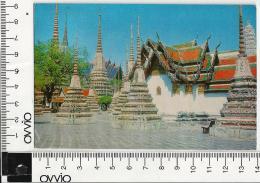 THAILANDIA)1975 Bangkok Wad Po Viaggiata - Tailandia