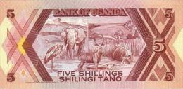 UGANDA 5 Shillings 1987  *UNC* P-27 - Oeganda