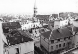 France Saint Cloud Construction Pres De L'Eglise 2 Anciennes Photos Guillat 1984