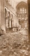 Belgique Ypres Ieper Eglise Saint Martin Degats Bombardement Ancienne Photo 1914-1918