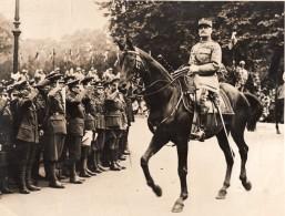 France Marechal Foch Defile Fetes De La Victoire ? Ancienne Photo 1919 - Guerre, Militaire
