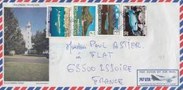 LETTRE 1983 POLYNESIE FRANCAISE - Polinesia Francesa
