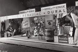 France Foire De Bordeaux Stand Bonalo Renaulac Dural Peinture Ancienne Photo Puytorac 1958 - Altri