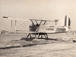 USA Avion Militaire Hydravion Bombardier Douglas LWF DT-2 A-6585 Ancienne Photo 1924