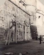France Assaut Du Portique Entrainement Militaire Ancienne Photo 1910
