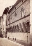 Italie Bologne Casa Dei Pittori Carracci Ancienne Photo Fotografia Dell'Emilia 1980