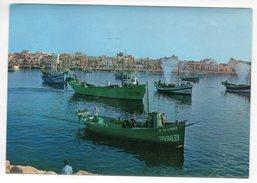 Espagne --CAMBRILS--Salida De Las Embarcaciones De Pesca , Cpsm 15 X 10 N° T 6237  éd  Kolorham - Tarragona