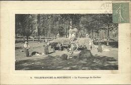 VILLEFRANCHE-de-ROUERGUE - Le Façonnage Du Gerbier                                          -- Rayssac 9 - Villefranche De Rouergue