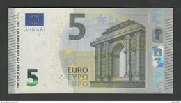 FRANCE 5 EURO UA / U004 H1 - Série Europa UA7060xxxxxx - UNC - Draghi - EURO