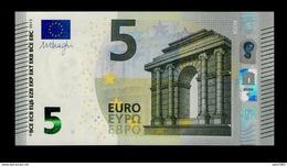 FRANCE 5 EURO UB / U004 C2 - Série Europa UB2060xxxxxx - UNC - Draghi - EURO