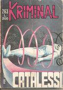 KRIMINAL N. 263 CATALESSI CORNO - Libri, Riviste, Fumetti