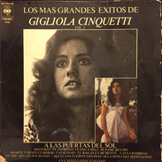 LP Argentino Recopilatorio De Gigliola Cinquetti Año 1974 - Vinyl Records