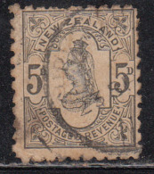 5d Used Perf., 10 X 10, New Zealand 1882 Onwards - Used Stamps