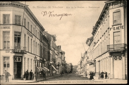 Saint Nicolas Waes  : Rue De La Station - Statiestraat  /  Mooie Animatie - Sint-Niklaas