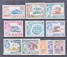BRITISH  CYPRUS  183-93  **  * - Cyprus (...-1960)