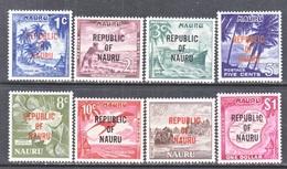 NAURU  72 +  ** - Nauru