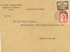 Peru / Volcanoes / Germany / Diplomatic. - Pérou