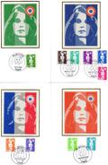 Carte Maximum - 2617/26 - Marianne - Maximum Cards