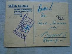 D147947 Hungary Glück Kalman Noi Divat üzlete  Szolnok Baross Utca 21 - To Opel Service Budapest 1940 - Hongrie