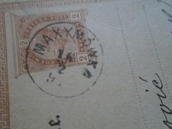 D147951  Ukraine  Poland Galizien -MAXIMOWKA Maksymiwka Dolyna - Via Tarnopol To Neusatz  Újvidék 1891 Postal Stationery - Ukraine