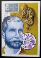 CM 1987 - YT N°2457 - MEDECINS ET BIOLOGISTES / ALEXANDRE YERSIN - PARIS - Maximum Cards