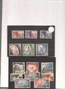 MONACO Année 1952/53   N° Y/T :383/396** Côte : 36,00 € - Nuevos
