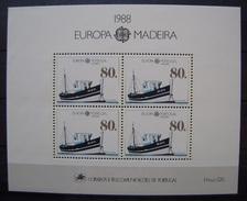 MADEIRA - IVERT HB 9 - NUEVOS (**) TEMA EUROPA (CEPT 1988 (R031) - Otros - Europa