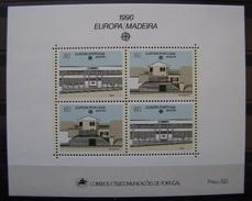 MADEIRA - IVERT HB 11 - NUEVOS (**) TEMA EUROPA -CEPT 1990 (R033) - Otros - Europa