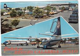REGGIO CALABRIA AIRPORT ANNI 80  VIAGGIATA - Reggio Calabria