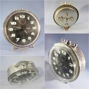 ~ REVEIL A REPETITION JERGER - Horlogerie Vintage - Réveils