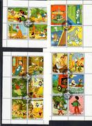 Sharjah Walt Disney Lotto Di 8 Foglietti Cod.fra.973 - Disney