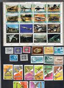 Aviazione Umm Al Qiwain Romania Colombia Germania Cile Bulgaria Oman  Cod.fra.974 - Francobolli