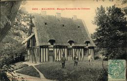 N°3339 QQQ LR MALNOUE MAISON NORMANDE DU CHATEAU - Autres Communes