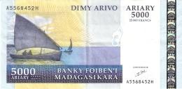 MADAGASCAR   5000 Ariary   ND (2003)   Sign.5   P. 84   SUP - Madagascar