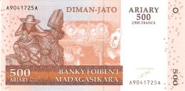 MADAGASCAR   500 Ariary   2004   Sign.5   P. 88a   UNC - Madagascar