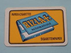 RIZLA + Automatique Papier A Cigarettes / Sigarettenpapier / JOKER ( Details - Zie Foto´s Voor En Achter ) !! - Playing Cards (classic)