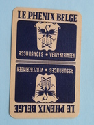 LE PHENIX BELGE Assurances Verzekeringen / JOKER ( Details - Zie Foto´s Voor En Achter ) !! - Playing Cards (classic)