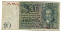 Germany 10 Mk. 1929, F.  Free S/H To USA. - [ 3] 1918-1933 : Weimar Republic