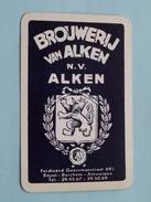 Brouwerij Van Alken N.V. ALKEN ' Dépot Berchem - Antwerpen ) JOKER ( Details - Zie Foto´s Voor En Achter ) !! - Barajas De Naipe