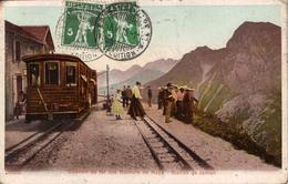 Chemin De Fer Des Rochers De NAYE.Station De Jaman.Train - VD Vaud