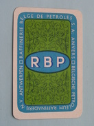 RBP Petroleum Raffinaderij ANTWERPEN / JOKER ( Details - Zie Foto´s Voor En Achter ) !! - Speelkaarten