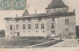 17 / 3 / 441  -  SEPTÈME  ( 38 )  - LE  CHÂTEAU  D'ALBON - Andere Gemeenten