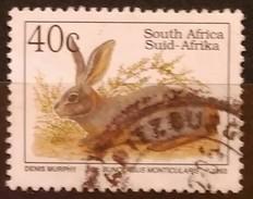 SUDAFRICA - AFRICA DEL SUR 1993 Endangered Fauna. USADO - USED. - Usados