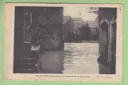 SERVIAN Pendant Les Inondations De Mars 1930. 2 Scans. Edition Lugan - France