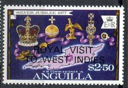 Anguilla1977 $2.50 Royal Visit Issue #300  MNH - Anguilla (1968-...)