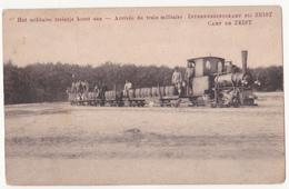 Zeist: Interneringskamp 1914-18. Militair Treintje. - Guerre 1914-18